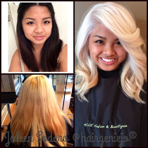 olaplex on pinterest color correction platinum blonde and fuller h color correction brassy mess to level 10 platinum