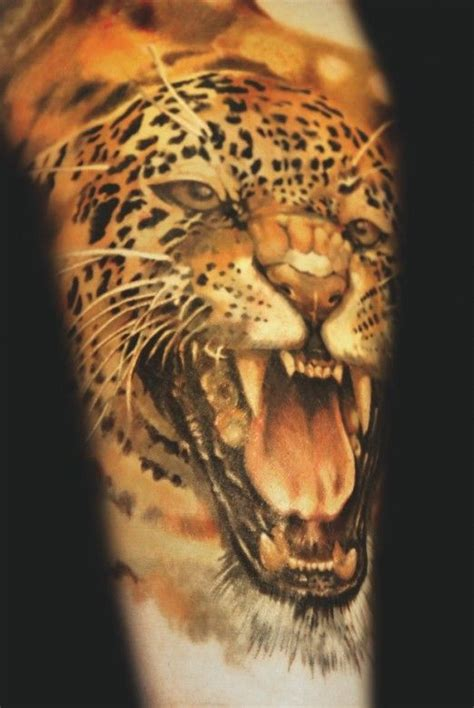 3d tattoo of mouth on head realistic cheetah tattoo by andrey barkov inkedmagazine