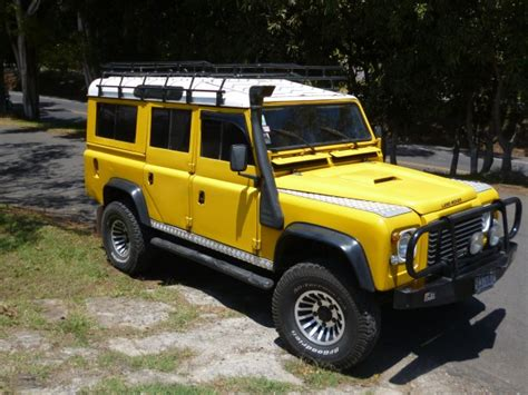 Image Gallery Land Rover Defender Yellow