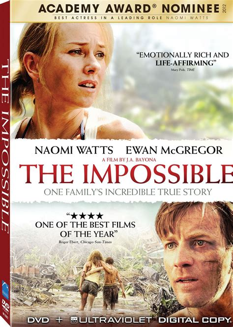 film with true story the impossible dvd release date april 23 2013