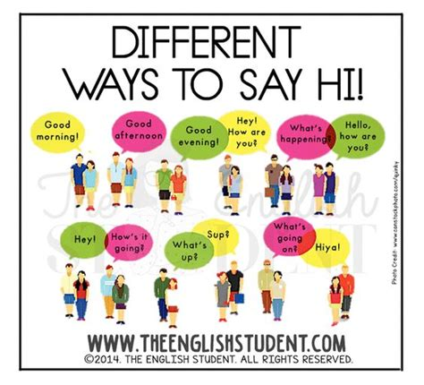 new year greeting etiquette www theenglishstudent the student saying hi