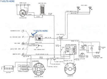 mf 135 w z 145 gas engine wiring diagram tractorshed