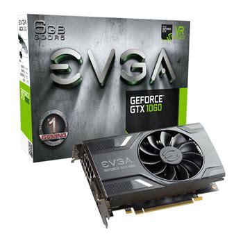 Vga Gtx 1060 6gb evga nvidia geforce gtx 1060 6gb gaming graphics card