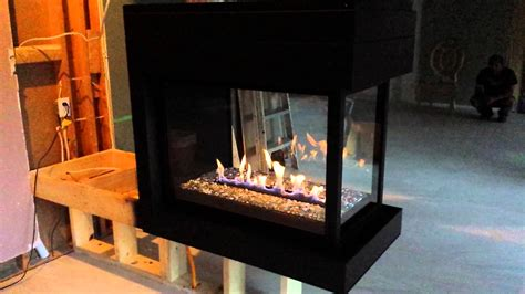 Electric Peninsula Fireplace by 15 3 Sided Electric Peninsula Fireplace Pictures Fireplace Ideas