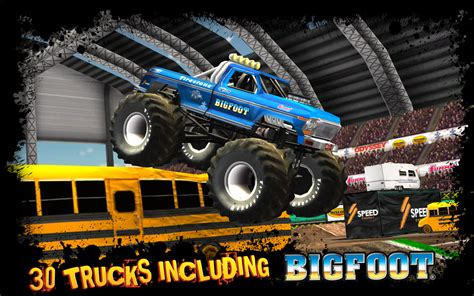 monster truck games videos screenshot image monster truck destruction indie db
