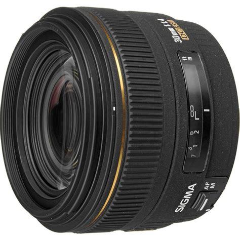 Lensa Canon 50mm F1 4 sigma 30mm f1 4 ex dc hsm sumber bahagia