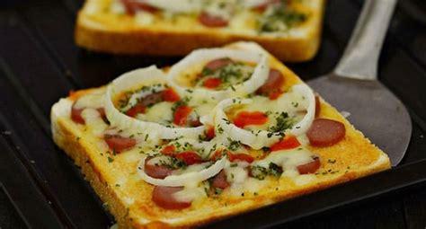 membuat pizza dengan roti tawar resep pizza roti tawar resepkoki co