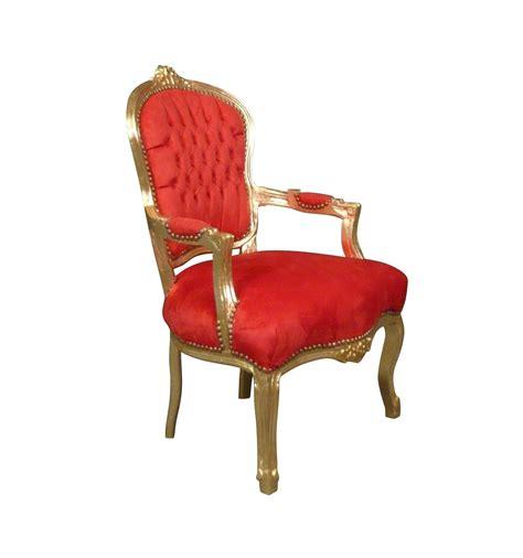 poltrona luigi poltrona luigi xv barocco oro e rosso