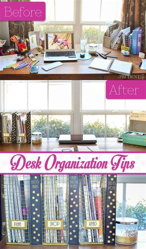 office desk organization tips desk organization reveal a prudent