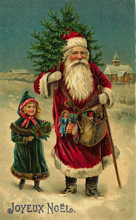 santa claus vintage 153 free desktop wallpapers cool