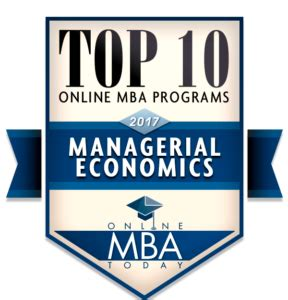 Highest Ranked Mba Program With by Top 10 Mba Programs In Managerial Economics
