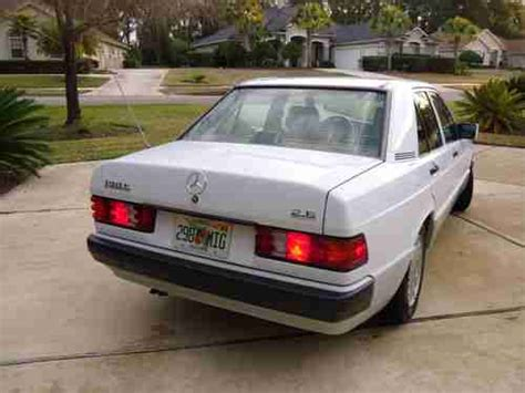 repair anti lock braking 1992 mercedes benz w201 transmission control buy used 1992 mercedes benz 190e 2 6 sedan 4 door 2 6l private owner no reserve in orange park