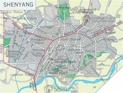 Shenyang City Map, China Shenyang City Map - Shenyang ...