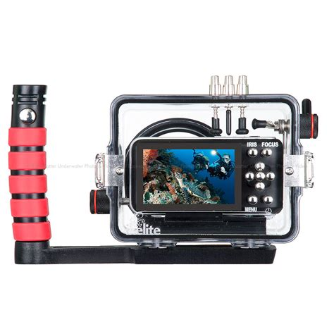 cinema pocket ikelite underwater dive surf housing for blackmagic