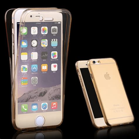 360 degree cases for iphone 6 6s front back soft tpu clear for iphone 6 4 7 6s touch