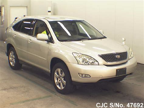 toyota harrier 2005 2005 toyota harrier silver for sale stock no 47692