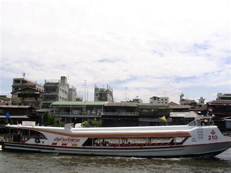 boat transport bangkok thai transportation thailand