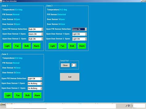 zigbee based home automation system free microcontroller