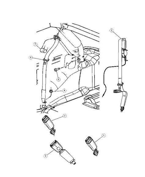jeep seat belts stuck rear seat belt stuck