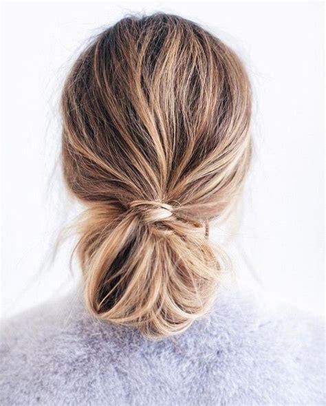 cut bun knots 1619 best beauty hair images on pinterest long hair