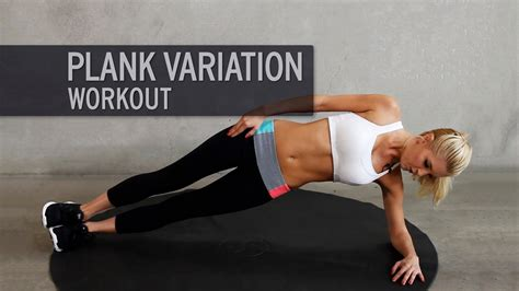 when can you start working out after c section plank variation workout youtube