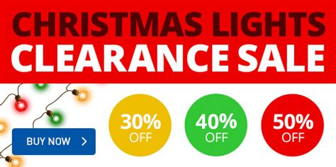 christmas light clearance christmas decorating