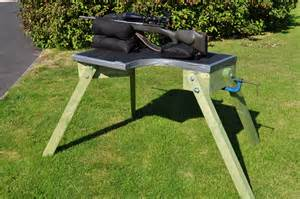 homemade shooting bench plans diy plans shooters bench google search pinteres