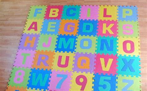 tappeto per puzzle tappeti puzzle per bambini
