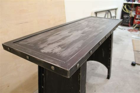 industrial sofas all steel industrial sofa table modern industrial