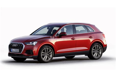 audi q3 interni next 2018 audi q3 rendered in production guise