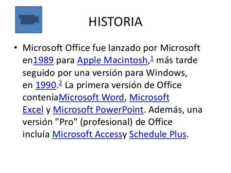 si鑒e social de microsoft historia y evolucion de microsoft office