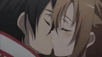 Sword art online images kirito and asuna kissing hd wallpaper and