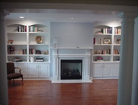 Cleary Custom Cabinets Custom Wall Units Traditional Living Room New York