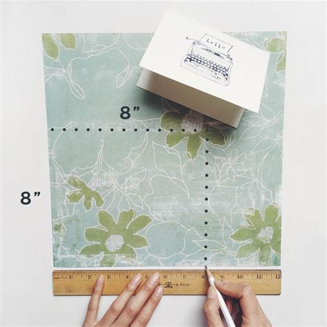 How To Make Envelopes Out Of Scrapbook Paper - diy scrapbook paper envelopes owl ink