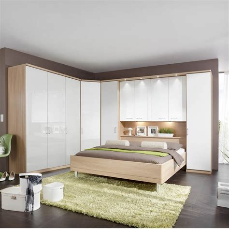 white corner unit bedroom furniture white wooden storage
