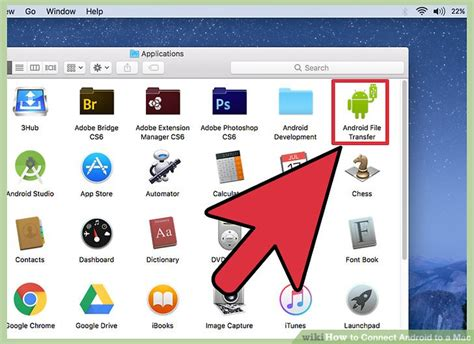 connecting android to mac how to connect android to a mac with pictures wikihow