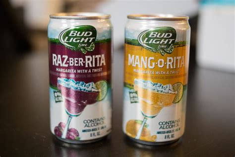 margarita canned creations bud light