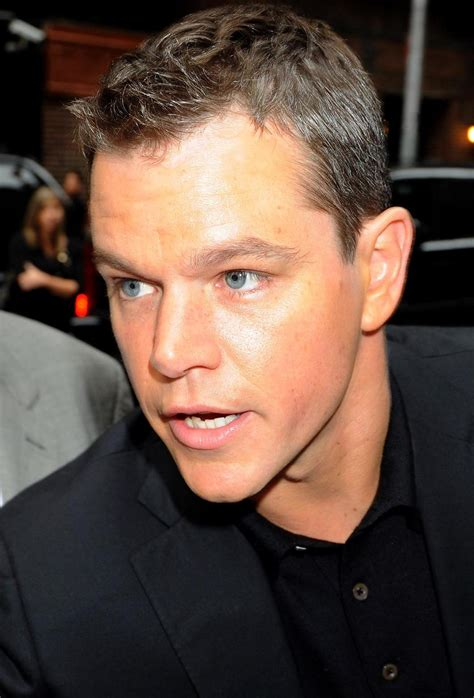 50 Photos Matt Damon by Haircuts For Balding 50 Newhairstylesformen2014