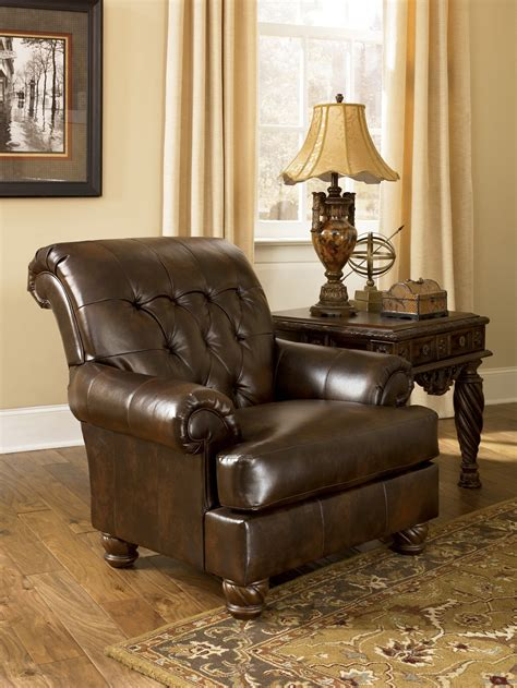 ashley durablend antique sofa fresco durablend antique accent chair from ashley 6310021