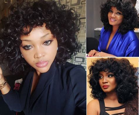 omotola jalade ekeinde hairstyles hairstyle omotola vs mercy aigbe who rocked it better