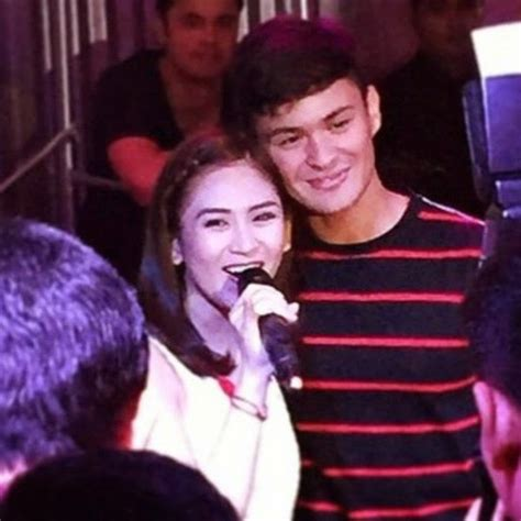 sarah g and matteo guidicelli omg sarah geronimo kisses matteo guidicelli on his birthday