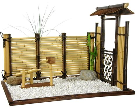 shop houzz zen bamboo mini garden home decor