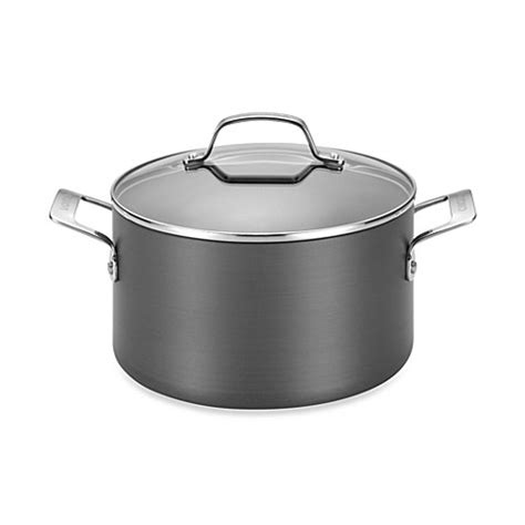 dutch oven bed bath and beyond circulon 174 genesis hard anodized nonstick 4 5 quart dutch