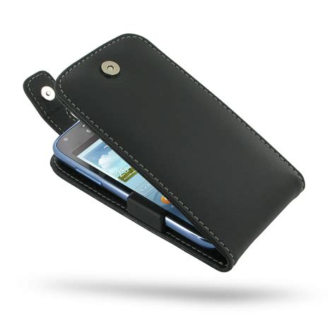 Flip Leather Motif Samsung I8262 1 samsung galaxy duos leather flip top pdair sleeve pouch