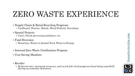 Mba Supply Chain Management Harvard by Getting To Zero Waste Sasin Workshop