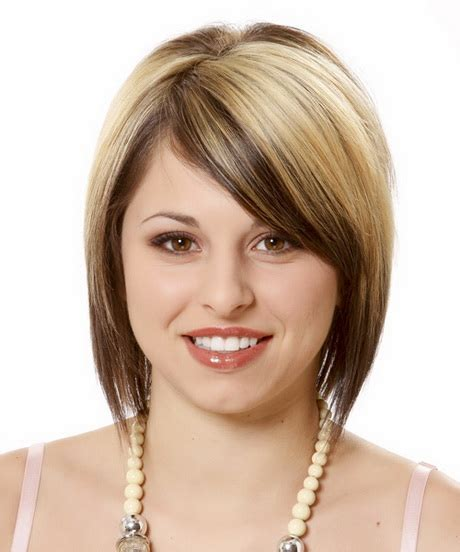 best hairstyle for round face ladies round face hairstyle for women