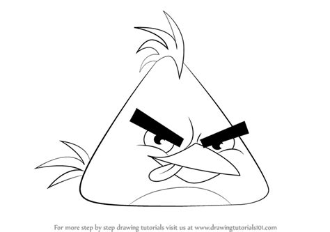 angry birds coloring pages chuck learn how to draw chuck from angry birds angry birds