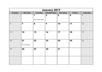 monthly calendar  printable calendar templates