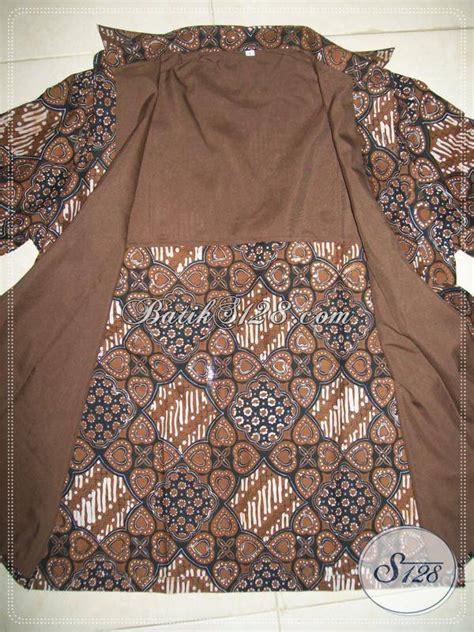 Hem Harris Semi Dan Furing hem batik furing lengan panjang warna dan motif klasik batik jogja lp270bt l toko batik
