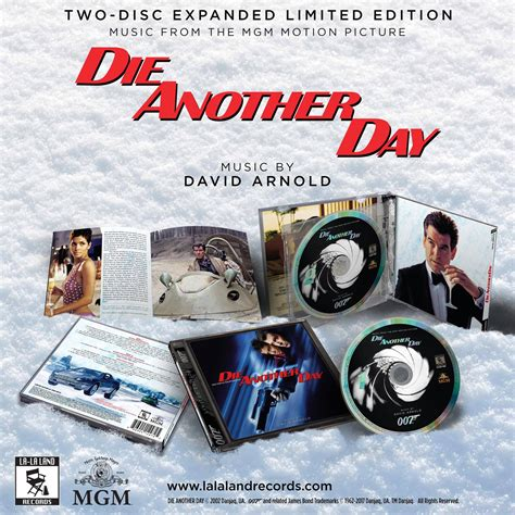 Records La La La Land Records Die Another Day Limited Edition 2 Cd Set David Arnold